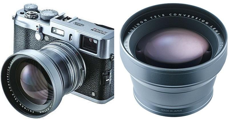 Fujifilm TCL-X100 tele-conversion lens adds 33mm fixed focal length to X100/X100S cameras