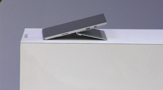 Surface Pro 3 Type Cover, 150-deg hinge and 4K Dock detailed
