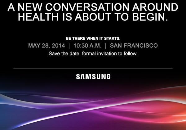 Samsung health event planned for May 28