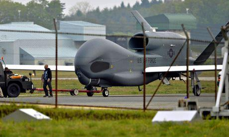 US drone soars through Europe on Nato mission