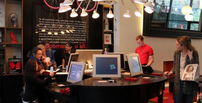 CitizenM high-tech hotel arrives in New York