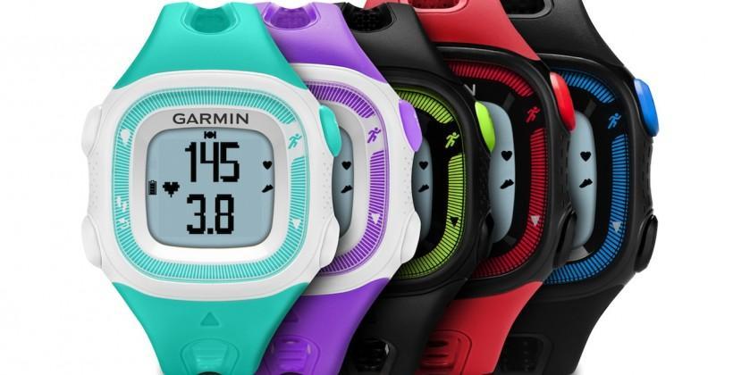 Garmin Forerunner 15 blends VivoFit and GPS fitness watch