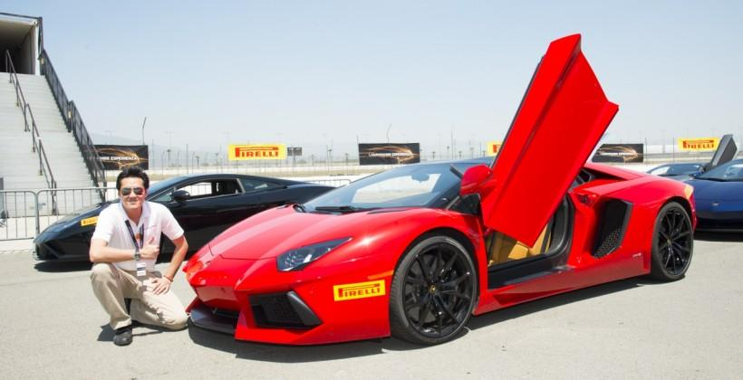 I took Lamborghini's Aventador on the track (& only just survived)