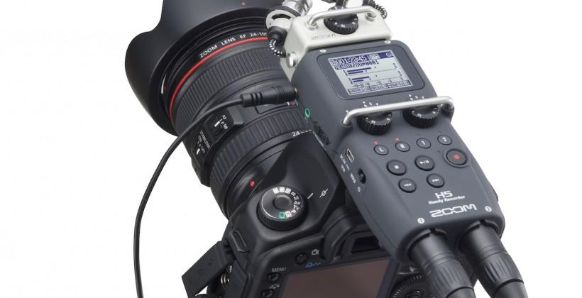 Zoom H5 Handy Recorder takes studio sound mobile