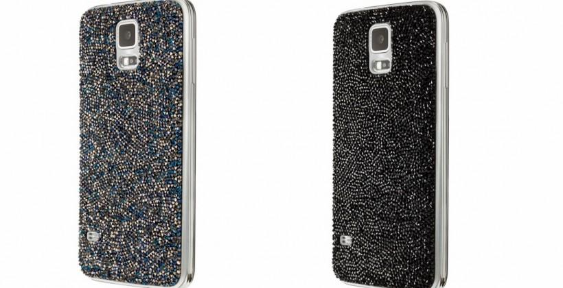 Galaxy S5 Swarovski Collection brings crystal-studded accessories
