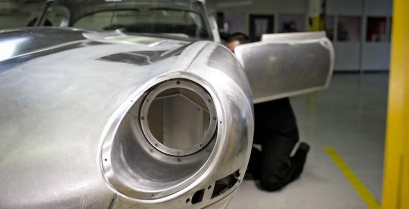 Jaguar Lightweight E-type resurrects priceless classic