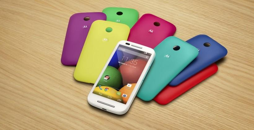 Moto E takes on entry-level smartphone space