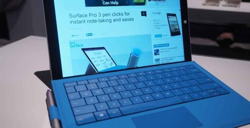 Surface Pro 3 hands-on