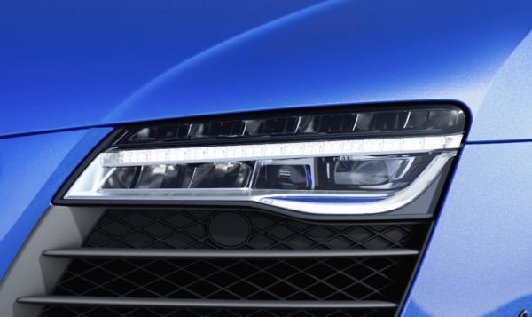 Audi R8 LMX laser headlamps