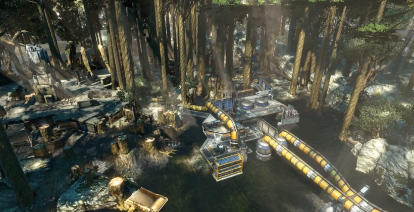 Titanfall video shows new Swamplands level being built