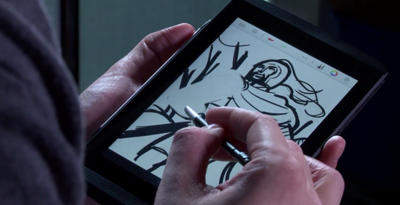 Tegra NOTE 7 and DirectStylus bring artistic ambitions to life