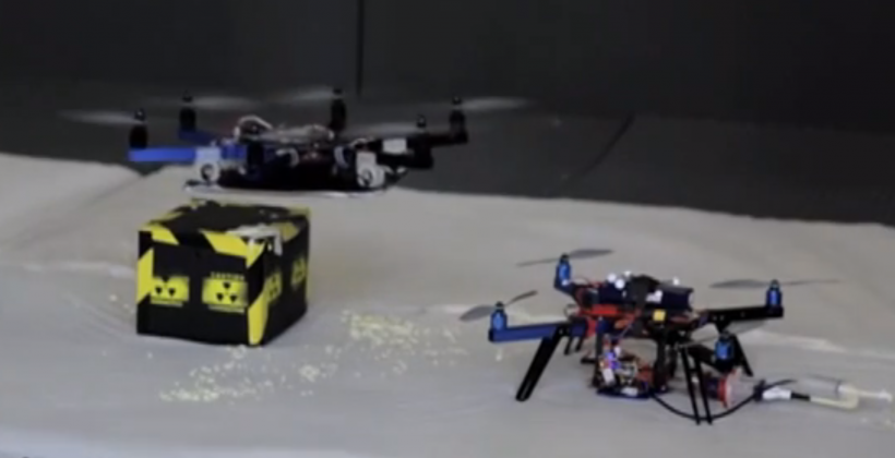 3D printing drones act like dragons, use epoxy instead of fire