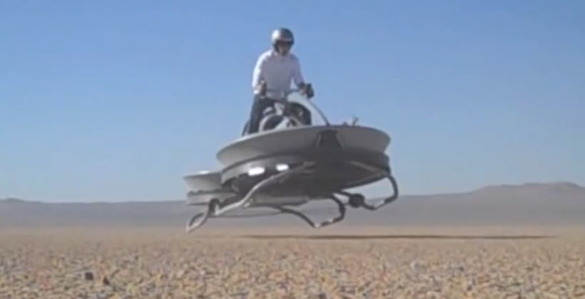 Aero-X hover-bike up for pre-order, Star Wars becoming a reality