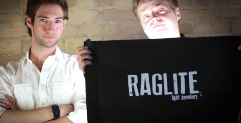 Raglite offers portable, rugged LED lighting via Kickstarter