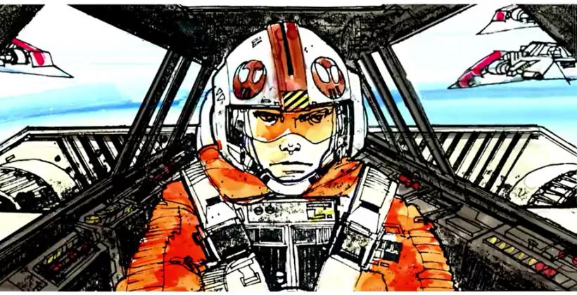 Star Wars Storyboards Teases Early Original Trilogy Art Slashgear