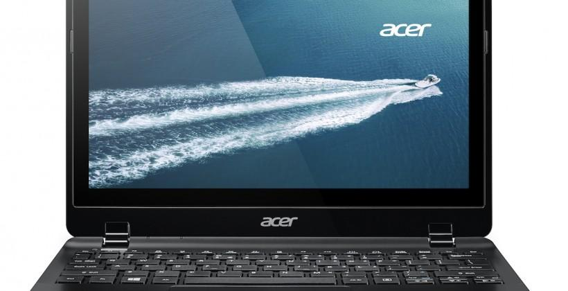 Acer TravelMate B115P offers Windows 8.1 fanless touch