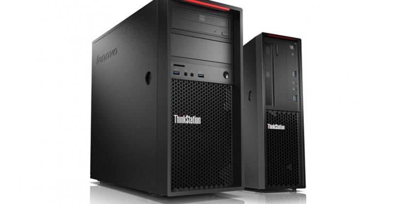 Lenovo ThinkStation P300 packs FLEX module and finessed case
