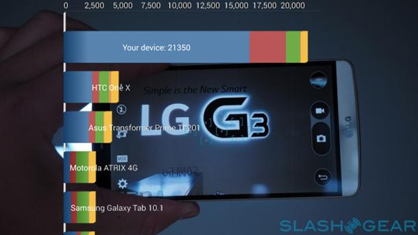 LG G3 benchmarked: Snapdragon 801 on call