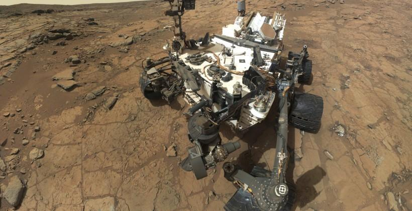 Curiosity rover digs again in hunt for Mars life-signs