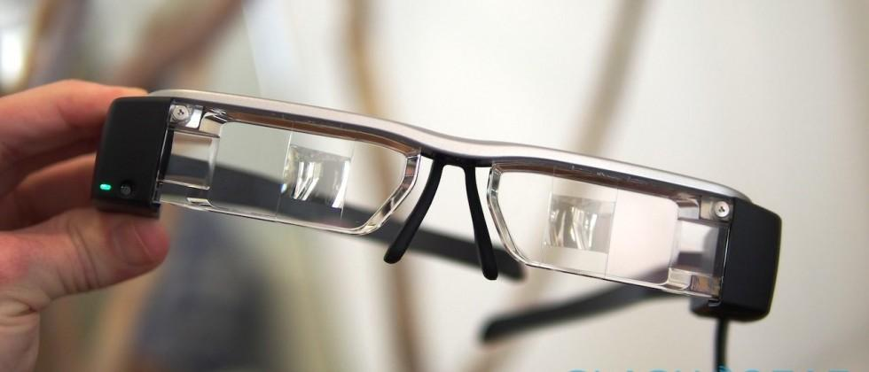 Epson Moverio BT-200 smart glasses hit shelves