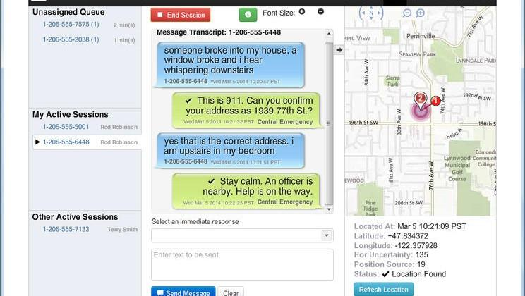 Text-to-911 available on all carriers starting May 15