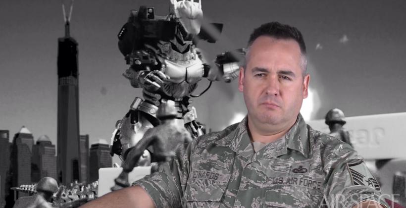 Godzilla 2014 vs US Air Force: real talk