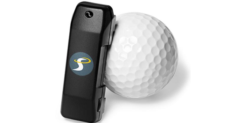 SwingSmart sensor analyzes your golf swing