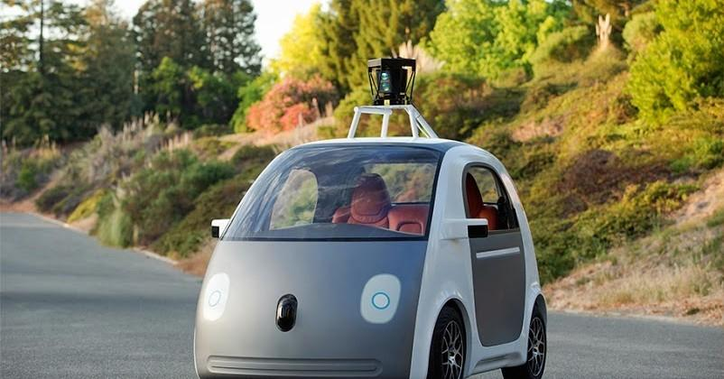 No blending-in: Google's self-driving cars aim to be noticed