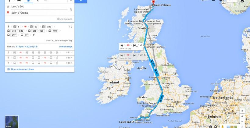 Google Maps boosts transit for UK, Chicago and Vancouver