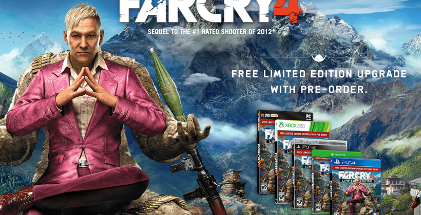 """Far Cry 4 revealed as """"most expansive and immersive"""" so far"""