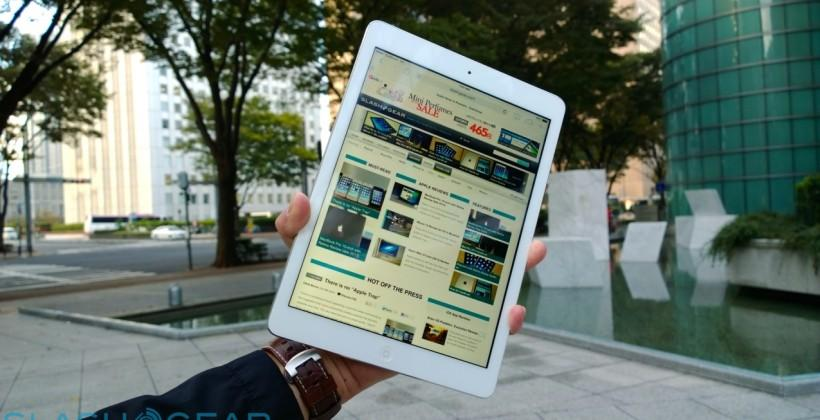 Tablet glee dips: Apple and Samsung battle budget slates