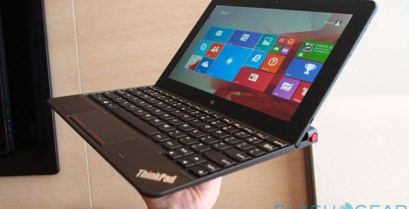 Lenovo ThinkPad 10 tablet hands-on