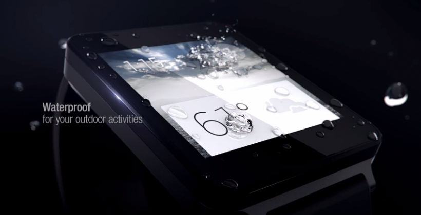 """LG G Watch showcased: """"timeless"""" and waterproof"""