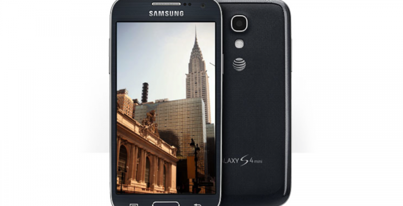 Samsung Galaxy S4 mini released to AT&T with VoLTE