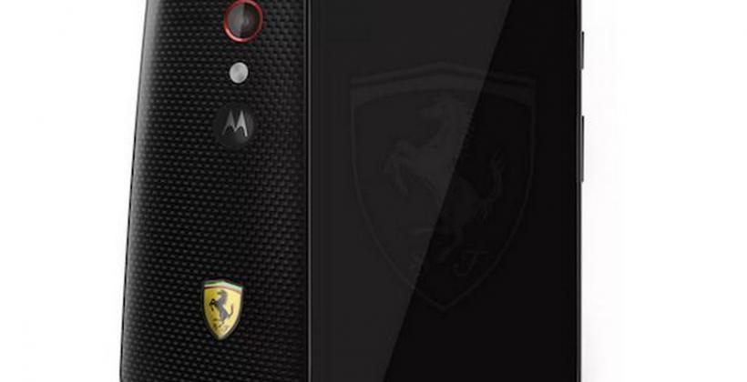 Moto G Ferrari edition masters the oxymoron