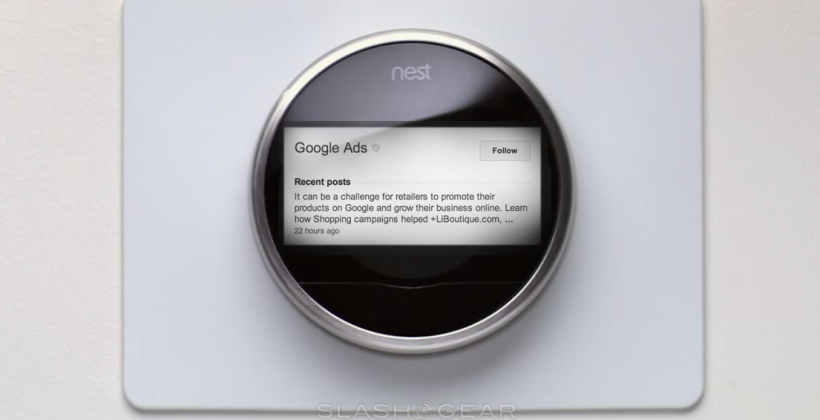 Can Google make us want Nest ads?