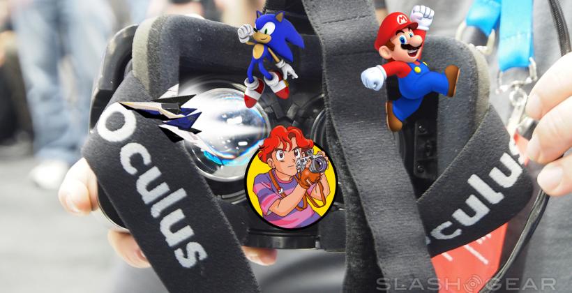 Oculus Rift Mario, Star Fox 64, Pokemon, Sonic gameplay made real ...