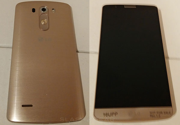 LG G3 specifications released with gold edition photos