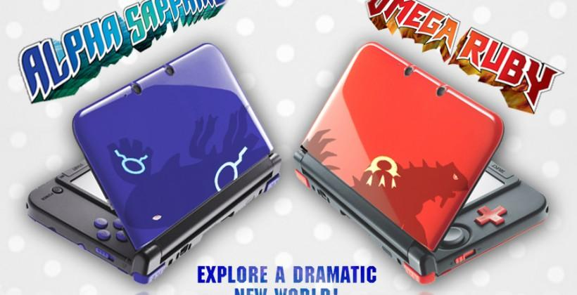 3DS Pokemon Omega Ruby Alpha Sapphire edition: just a mockup