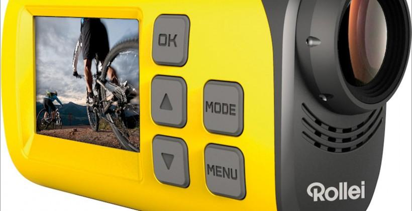 Rollei S30 sports camera brings live streaming to your rugged activity