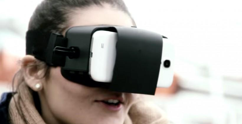 Samsung Oculus VR headset: neat, but not unique