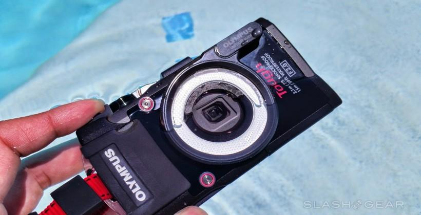 Olympus Tough TG-3 waterproof camera hands-on