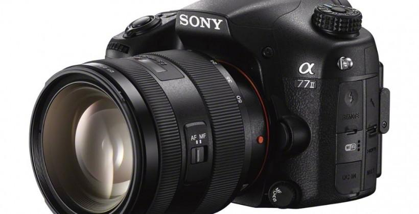 Sony Alpha A77 II refreshes DSLR with speedy BIONZ X