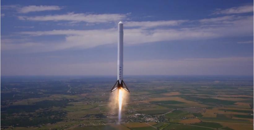 SpaceX reusable F9R rocket aces 1,000m safe landing trial