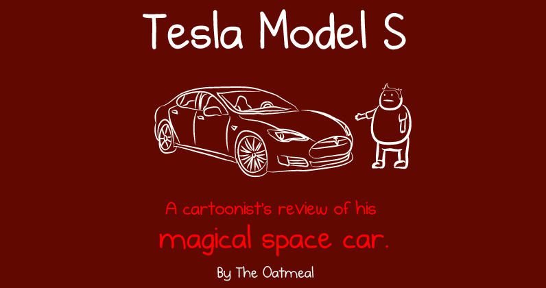Elon Musk pledges to Tesla Museum after Oatmeal Model S review