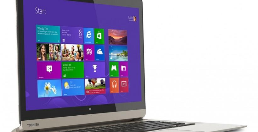Toshiba Satellite Click 2 Pro, Click 2 and Radius get twisting and docking