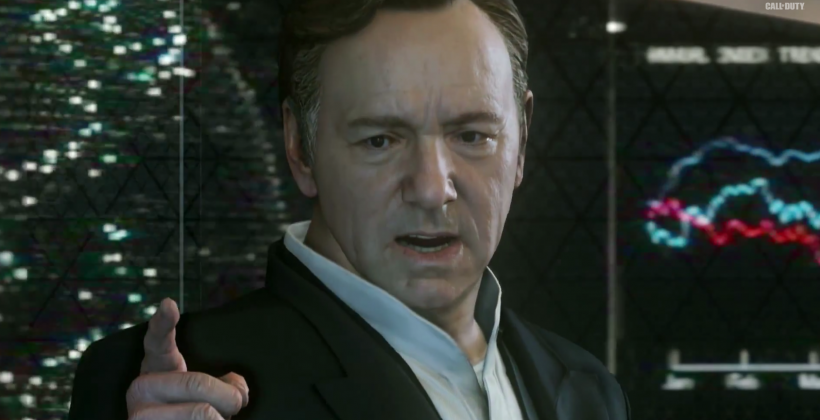 Call of Duty: Advanced Warfare – Kevin Spacey to the rescue