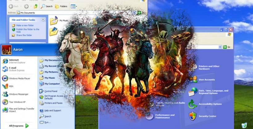 Windows XP may be dead, but it's still getting patched