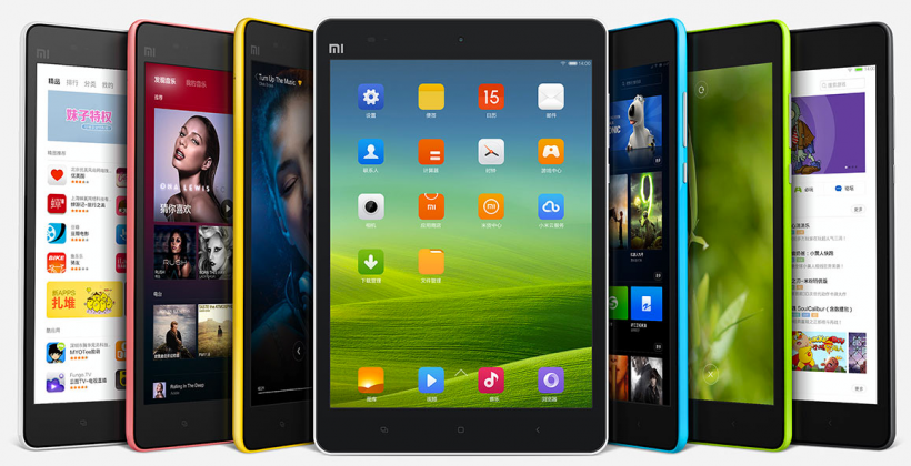 Xiaomi Mi Pad crafts iPad mini clone with Android and iPhone style