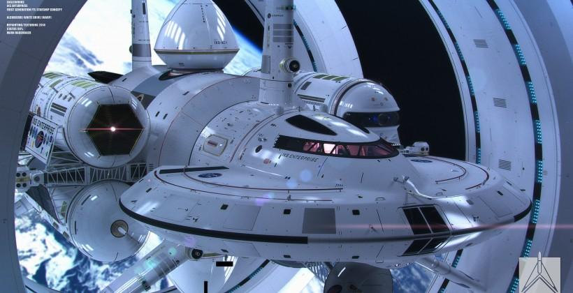 NASA spaceship concept showcases warp drive future